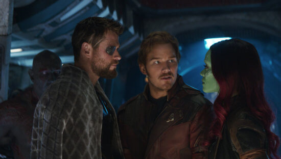 Thor/Star-Lord/Gamora