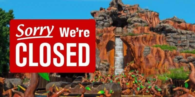splash mountain closed