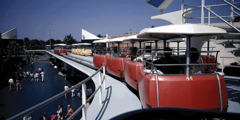 PeopleMover attraction at Disneyland Resort