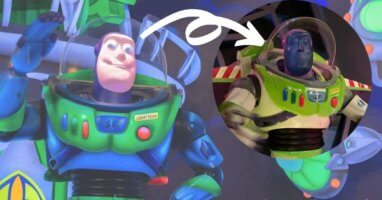 buzz lightyear animatronic space ranger spin