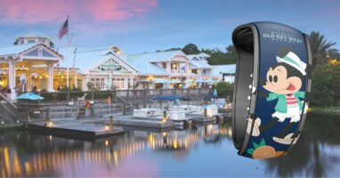 disneys old key west (background) and disney magicband