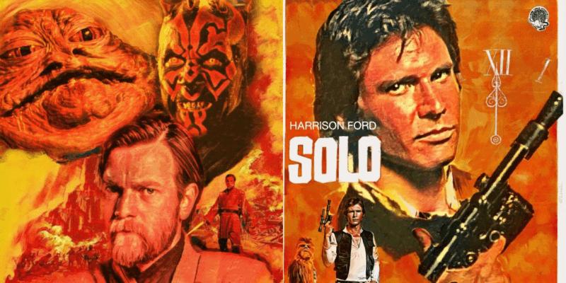 """""""Star Wars"""" artwork by Scadarts on Instagram"""