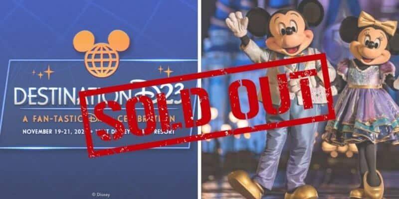 destination d23 sold out