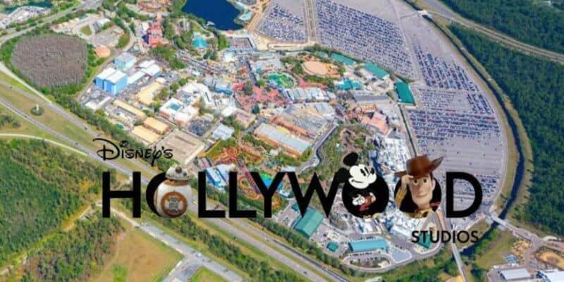 hollywood studios aerial view