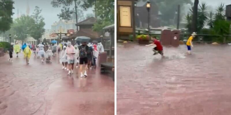 magic kingdom flooding