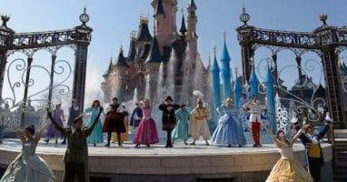 disneyland paris castle stage