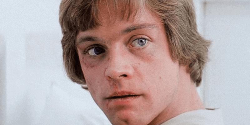 "Luke Skywalker (Mark Hamill) in ""Star Wars: Episode V - The Empire Strikes Back"" car crash changed ""Star Wars"""