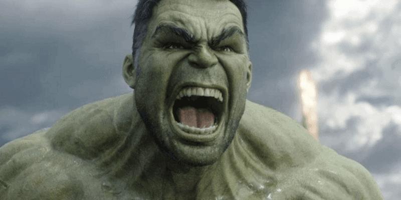 """Mark Ruffalo as the Hulk in """"Thor: Ragnarok"""" (2017)"""