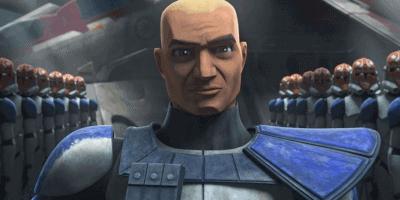 """Captain Rex (Bradley Dee Baker) in """"The Clone Wars"""""""