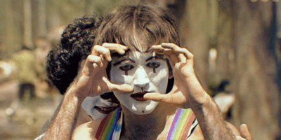 Robin Williams as a mine in 1974 New York