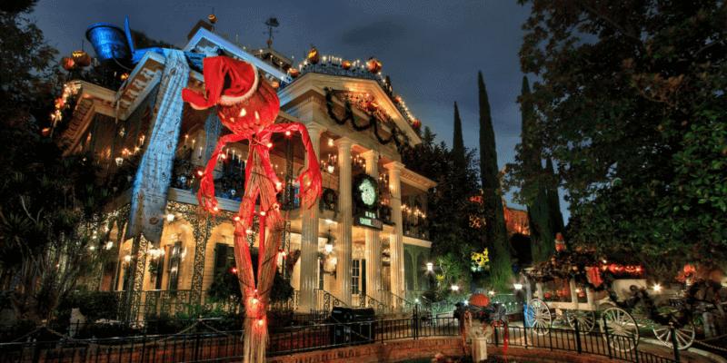 Haunted Mansion Holiday at the Disneyland Park