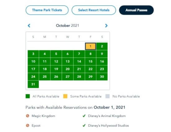 Park Pass Reservations for Annual Passholders