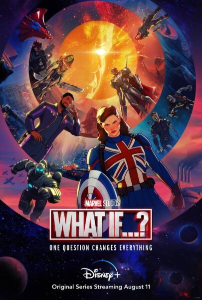 marvel studios what if poster
