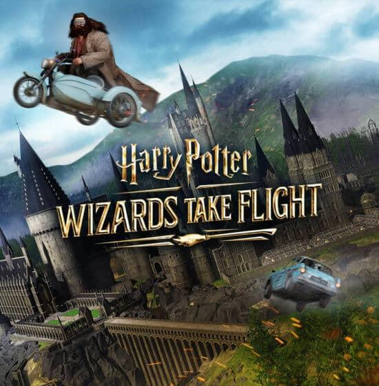 Wizards Take Flight VR