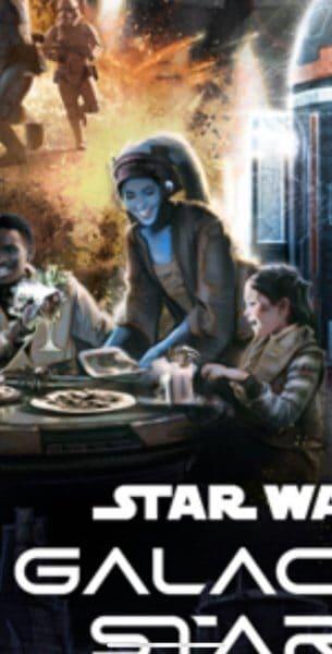 aayla secura star wars starcruiser poster