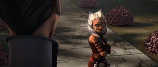 ahsoka in clone wars heroes on both sides