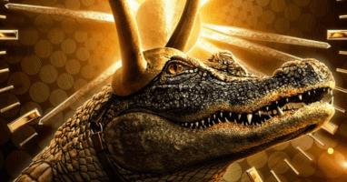 alligator loki official character poster for loki series on disney plus
