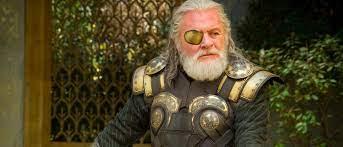 anthony hopkins as odin in thor ragnarok