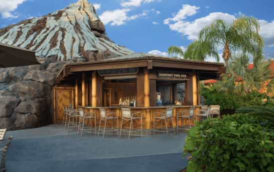 barefoot pool bar polynesian resort