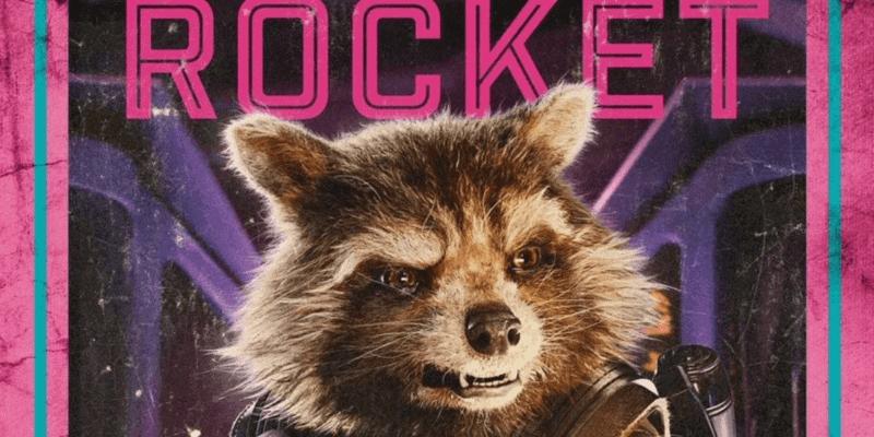 bradley cooper sean gunn rocket raccoon guardians of the galaxy character poster