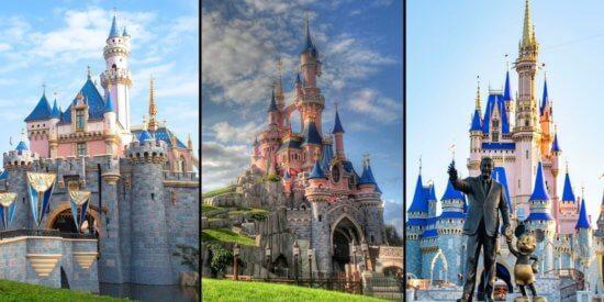 Disneyland, Disneyland Paris, Walt Disney World