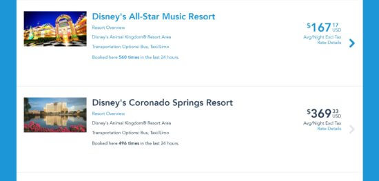 Disney World Rooms