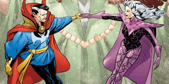 doctor strange and clea comic romance