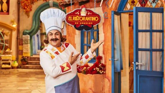 El Risoranto de Arnoldo Disney Plus Latinoamérica