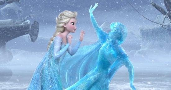 elsa with frozen anna