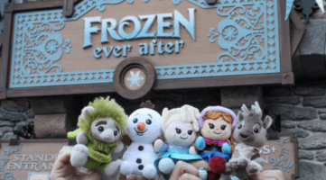 frozen ever after sign with wishables
