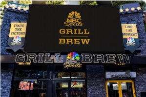 NBC Sports Grill & Brew in Universal Studios Hollywood