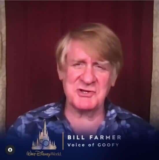 Bill Farmer, voice of Goofy