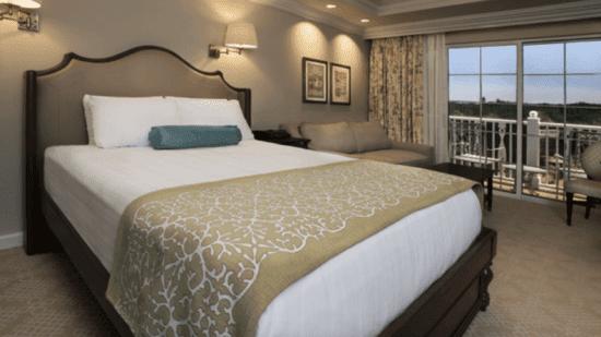 grand floridian dvc villa bedroom