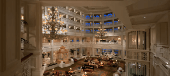 grand floridian resort lobby