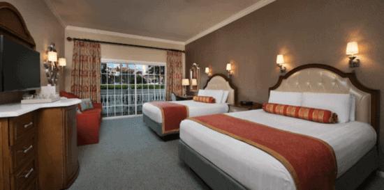 grand floridian resort standard room