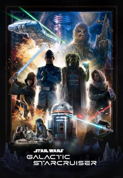 Star Wars: Galactic Cruiser Poster