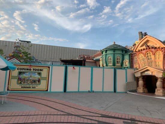 ToownTown Construction Disneyland