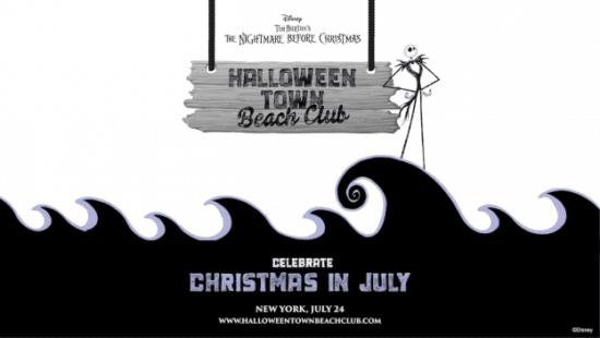 halloween town beach club jack skellington event