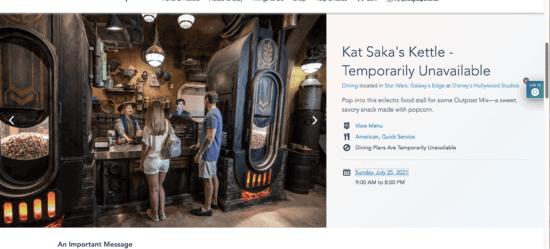 kat saka's kettle hours screenshot