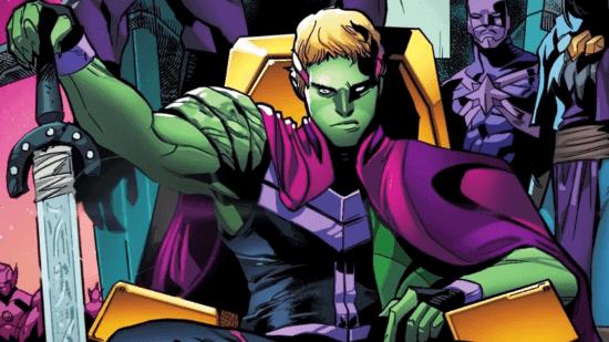 marvel comics theodore altman hulking young avengers kree skrull captain marvel