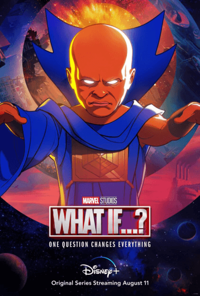 marvel what if poster uatu the watcher voiced by jeffrey wright