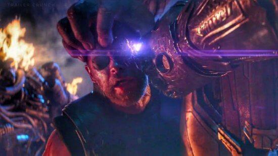 Thanos and Thor