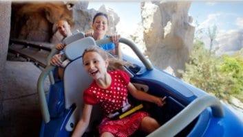 Matterhorn Bobsleds in Disneyland