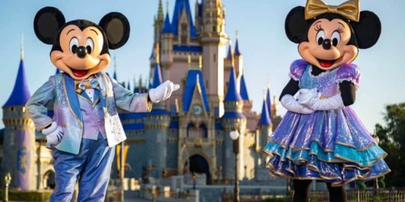 mickey and minnie disney world 50th outfits