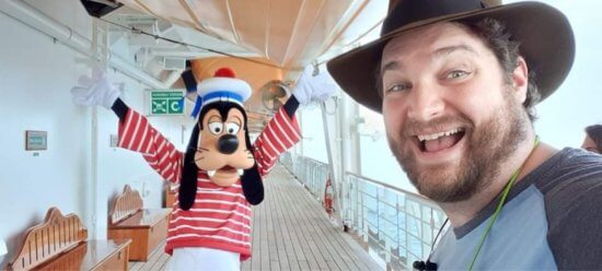 mike patierno cast member with goofy