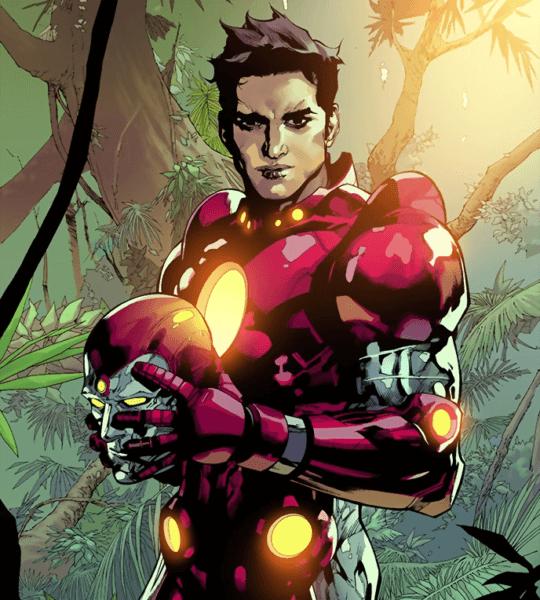 nathaniel richards aka iron lad aka young kang young avengers marvel comic