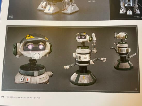rex droid vo3a galactic starcruiser