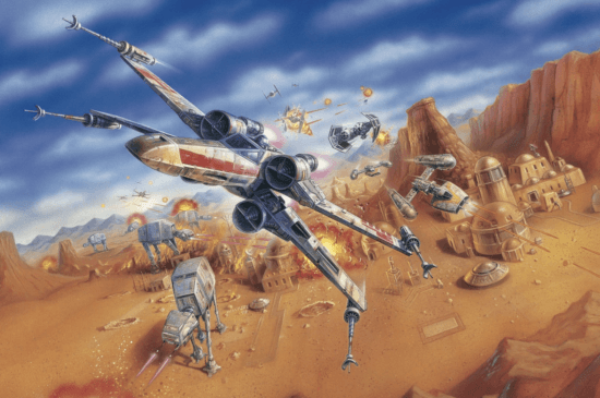 rogue squadron x-wings 1998 video game