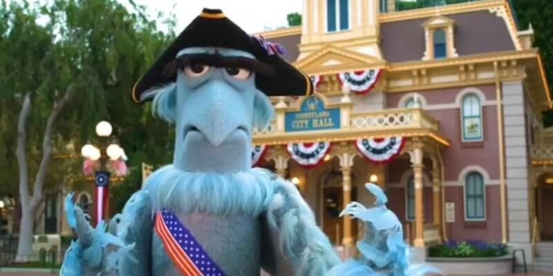 Sam the Eagle from the Muppets