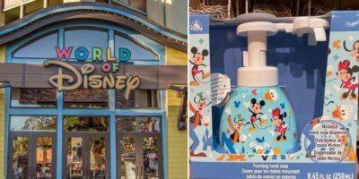 Mickey Soap Dispenser in World of Disney